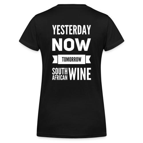 Frauen Bio-T-Shirt mit V-Ausschnitt von Stanley & Stella - Wine,Wein,Südafrika,South African Wine,South Africa,PR4Wine