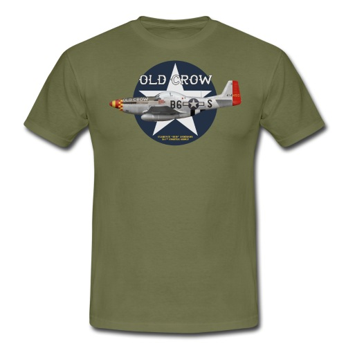P-51  Old Crow - Men's T-Shirt