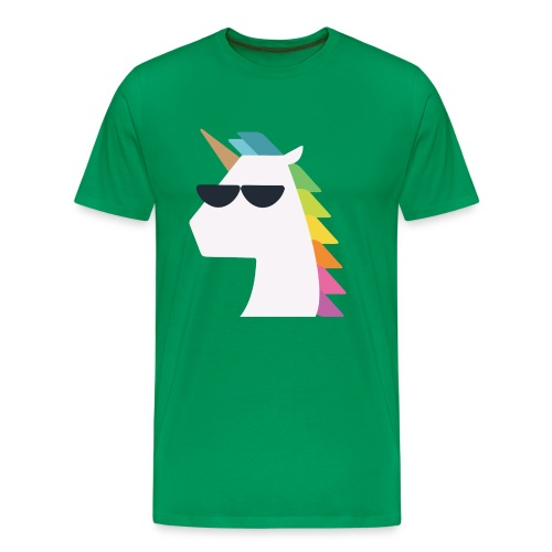 UniCool Green Shirt - Men's Premium T-Shirt