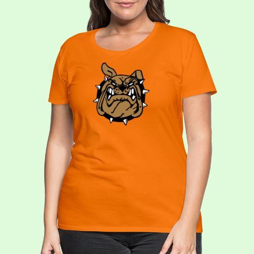Le sourire du Bulldog (3) - T-shirt Premium Femme