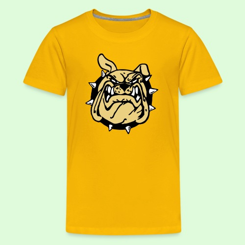 Le sourire du Bulldog (3) - T-shirt Premium Ado
