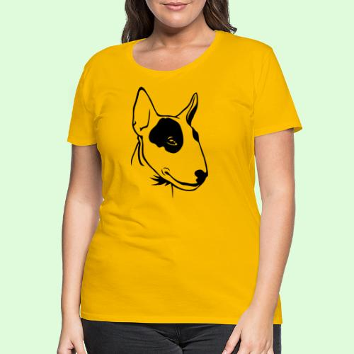 Profil de Bull Terrier - T-shirt Premium Femme