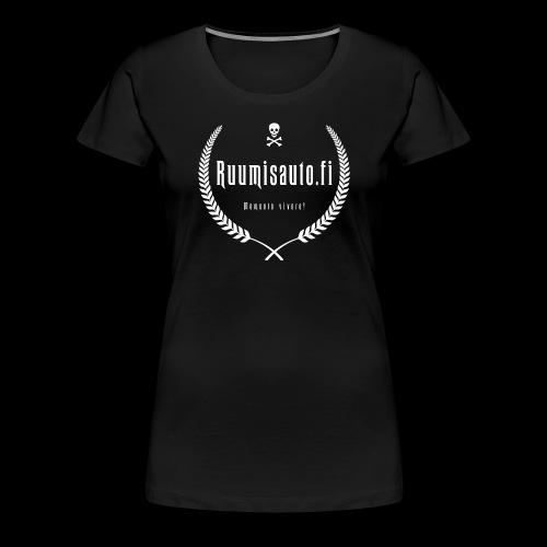 10-vuotismallia mukaileva naisten t-paita - Naisten premium t-paita