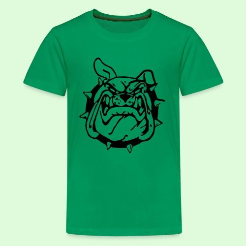 Le sourire du Bulldog - T-shirt Premium Ado