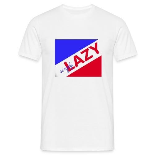 Simply Lazy - Männer T-Shirt