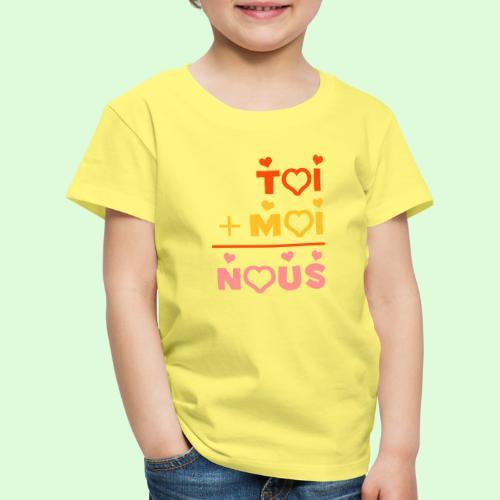 Toi & Moi - T-shirt Premium Enfant