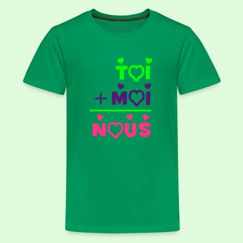 Toi & Moi - T-shirt Premium Ado