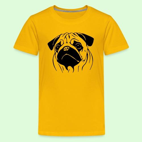 Pug, le Carlin - T-shirt Premium Ado