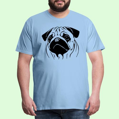 Pug, le Carlin - T-shirt Premium Homme
