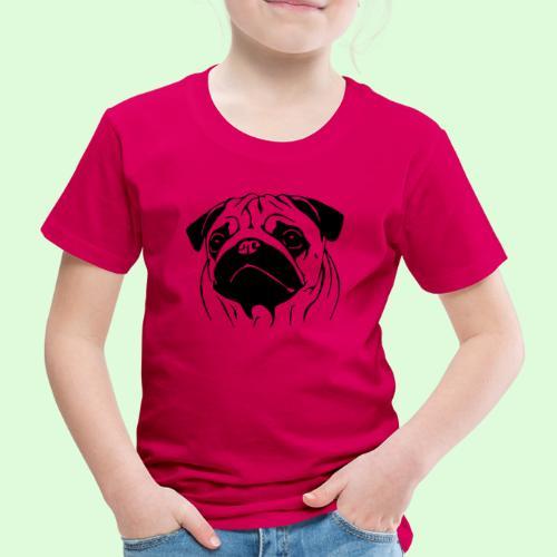 Pug, le Carlin - T-shirt Premium Enfant