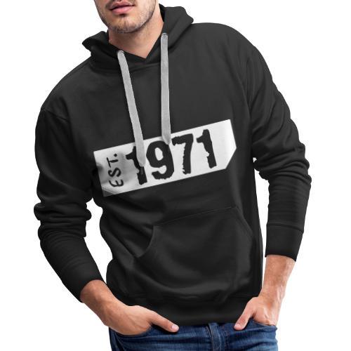 1971 - Mannen Premium hoodie