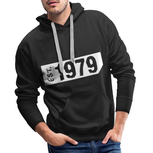 1979 - Mannen Premium hoodie