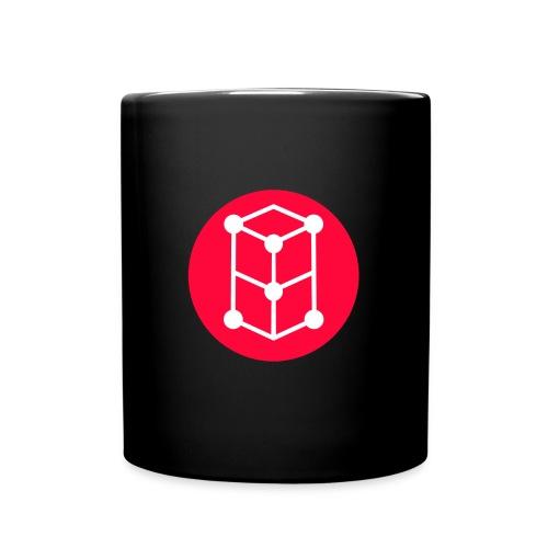 Grid Coffee - Tasse einfarbig