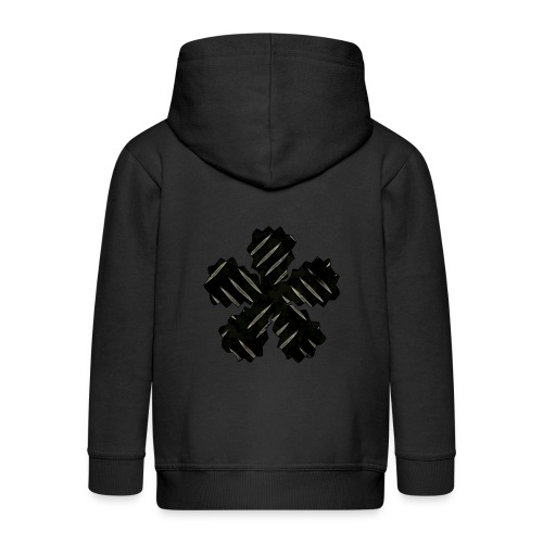 Point Of Struggle - Kids' Premium Zip Hoodie