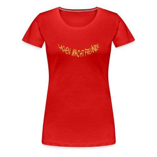 LC Frankfurt: Orange (Druck vorn und hinten) - Frauen Premium T-Shirt