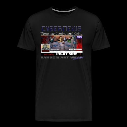 CYBERNEWS  - Men's Premium T-Shirt