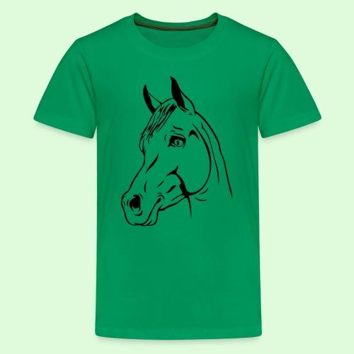 Tête de Cheval - T-shirt Premium Ado