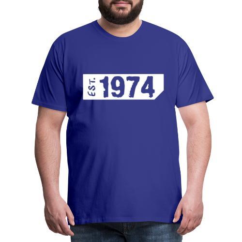 1974 Shirt - Mannen Premium T-shirt