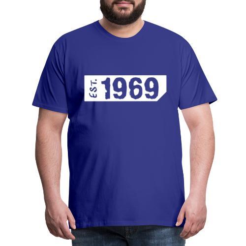 1969 Shirt - Mannen Premium T-shirt