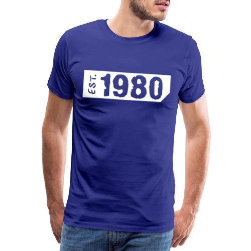 1980 Shirt - Mannen Premium T-shirt