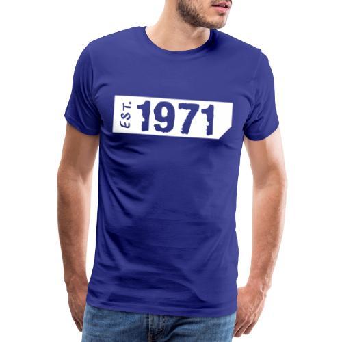 1971 Shirt - Mannen Premium T-shirt