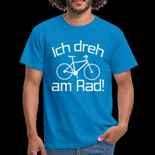 Fahrrad fahren Spruch T-Shirt - Männer T-Shirt