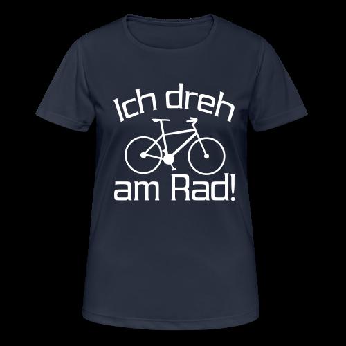 Fahrrad fahren Spruch Sport T-Shirt - Frauen T-Shirt atmungsaktiv