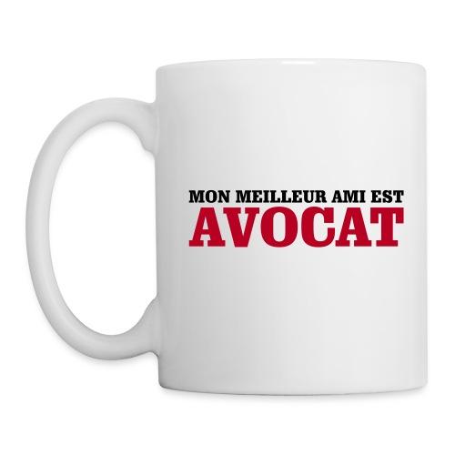Mug Avocat - Mug blanc
