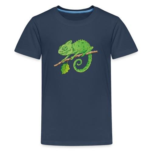 charmantes Chamäleon - Teenager Premium T-Shirt  - Teenager Premium T-Shirt