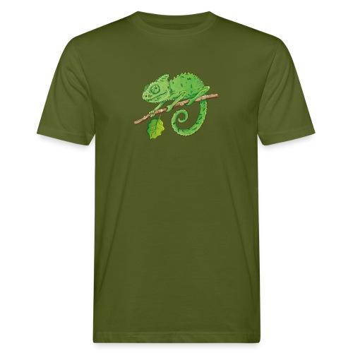 charmantes Chamäleon - Männer Bio-T-Shirt  - Männer Bio-T-Shirt