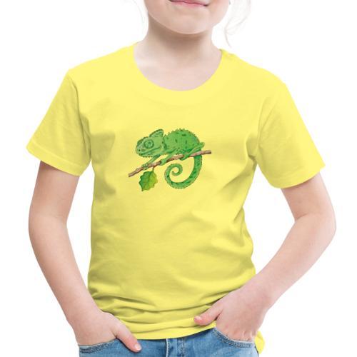 charmantes Chamäleon - Kinder Premium T-Shirt  - Kinder Premium T-Shirt