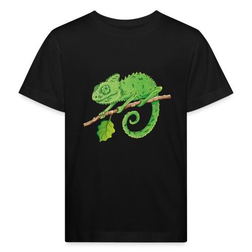 charmantes Chamäleon - Kinder Bio-T-Shirt - Kinder Bio-T-Shirt