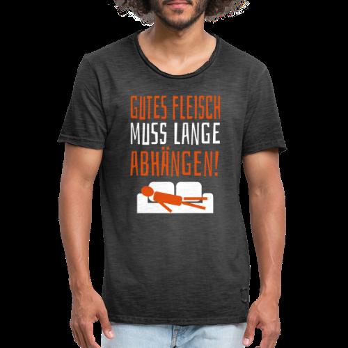 Gutes Fleisch Abhängen Sofa Vintage T-Shirt - Männer Vintage T-Shirt
