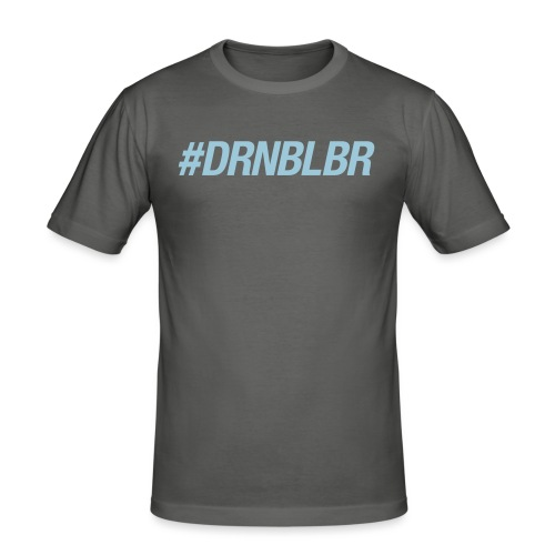 #DRNBLBR Shirt Herren - Männer Slim Fit T-Shirt