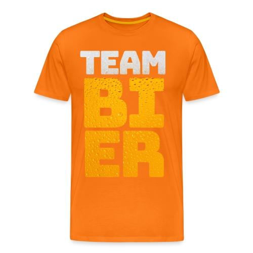 Team bier mannen premium  - Mannen Premium T-shirt
