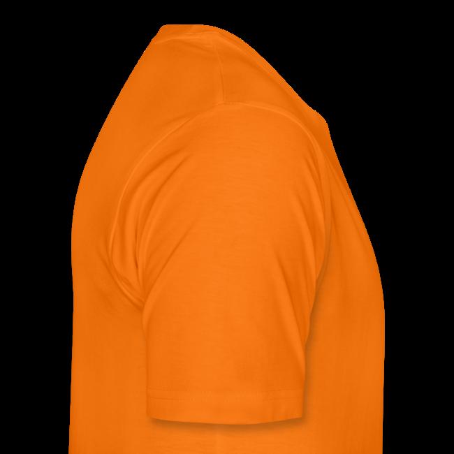Dit shirt is oranje mannen