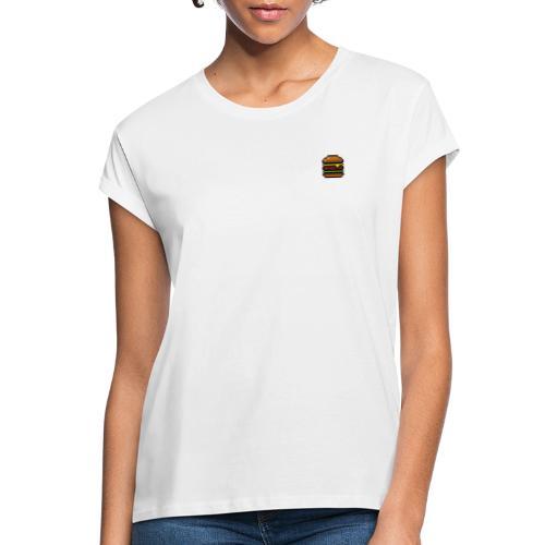 Pixel Burger - Frauen Oversize T-Shirt