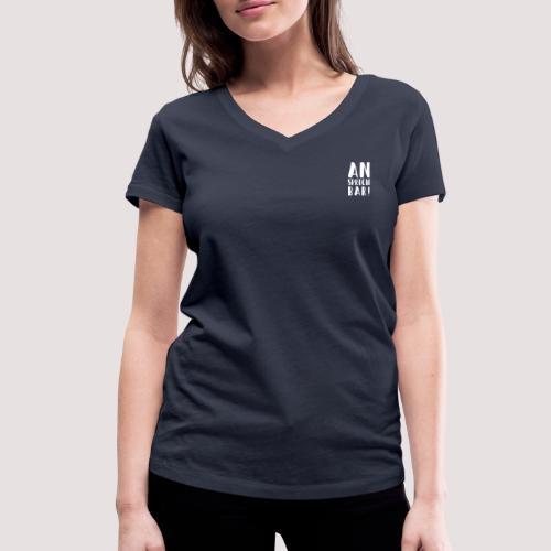 Ansprechbar - Weiblich - Bio TShirt - Frauen Bio-T-Shirt mit V-Ausschnitt von Stanley & Stella