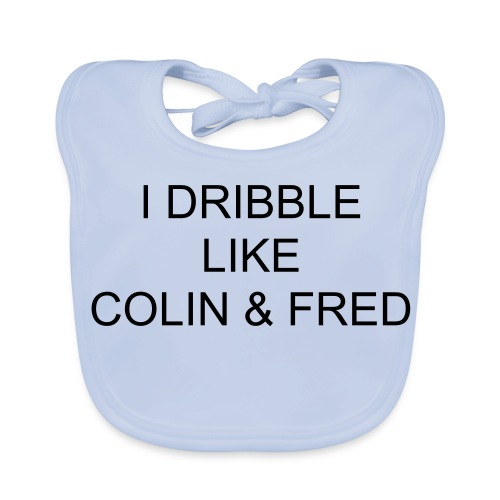 Blue C&F Dribble Top - Baby Organic Bib