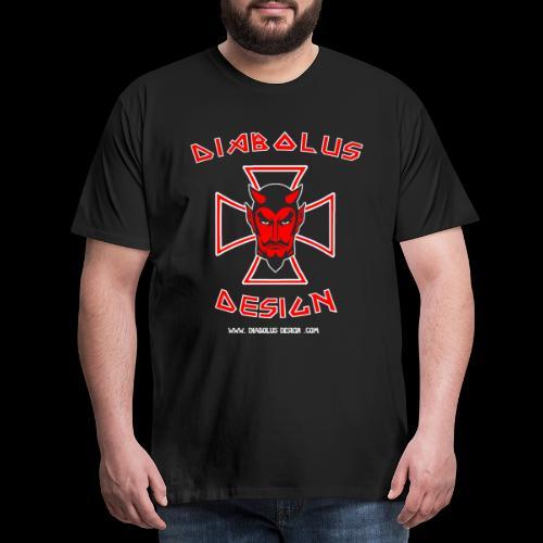 Diabolus Design Multi Print T-Shirt - Men's Premium T-Shirt