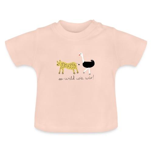 So wild wie wir (Leopard & Strauß) - Baby T-Shirt