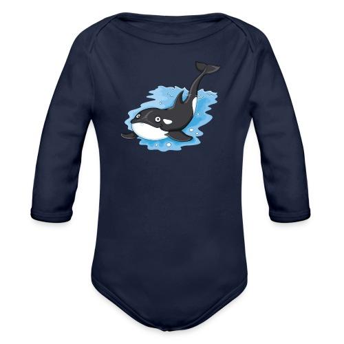 Orca - Baby Bio-Langarm-Body  - Baby Bio-Langarm-Body