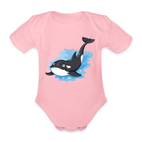 Orca - Baby Bio-Kurzarm-Body - Baby Bio-Kurzarm-Body