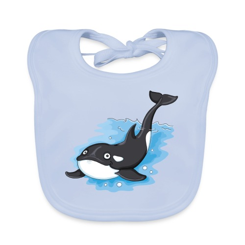 Orca - Baby Bio-Lätzchen - Baby Bio-Lätzchen
