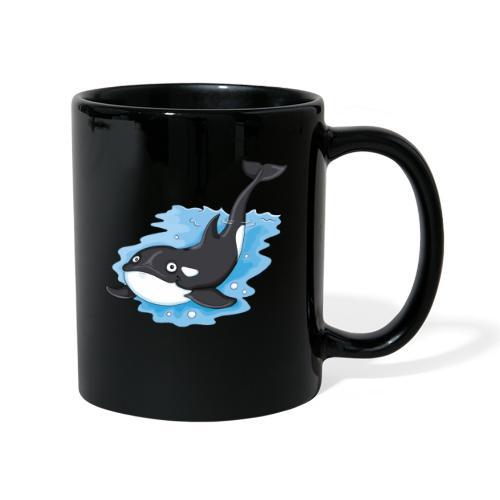 Orca - Tasse farbig  - Tasse einfarbig