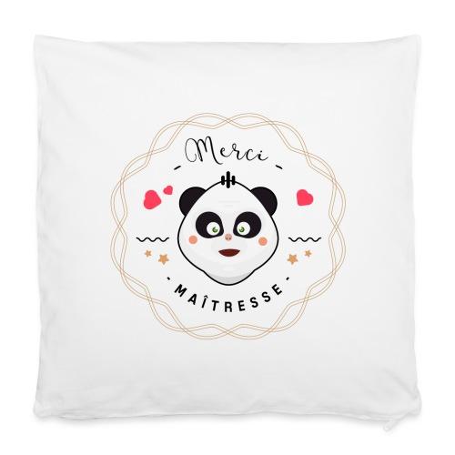 Merci maitresse-panda Autres - Housse de coussin 40 x 40 cm