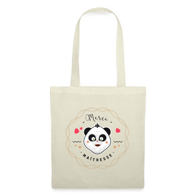Merci maitresse-panda Sacs et sacs à dos