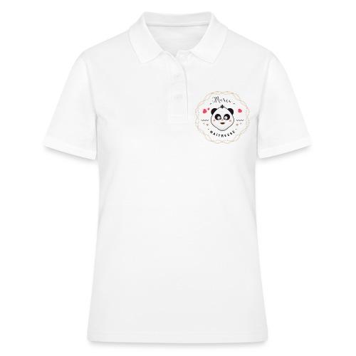 Merci maitresse-panda Polos - Women's Polo Shirt