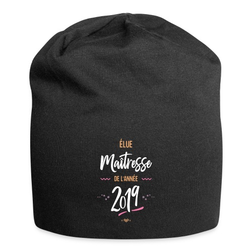 Maitresse de l'année 201 Casquettes et bonnets - Bonnet en jersey