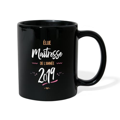 Maitresse de l'année 201 Mugs et récipients - Mug uni